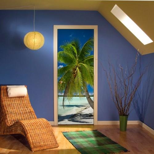 Фотообои красивая пальма Wallfix w-120