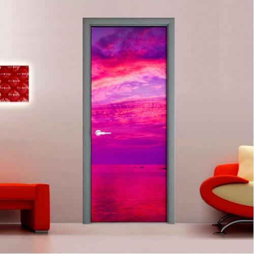 Фотообои лиловое небо Wallfix w-155