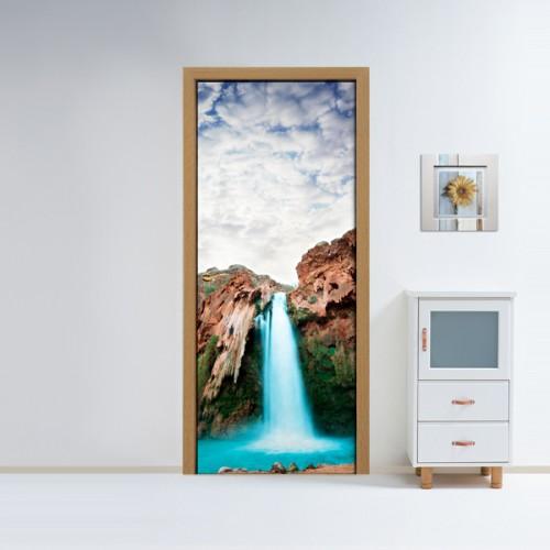 Фотообои горный водопад Wallfix w-230