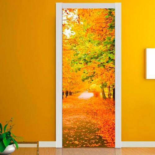 Фотообои золотая осень Wallfix w-252
